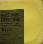 Gaudeamus competition 1973